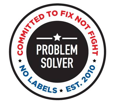 Image result for no labels problem solvers